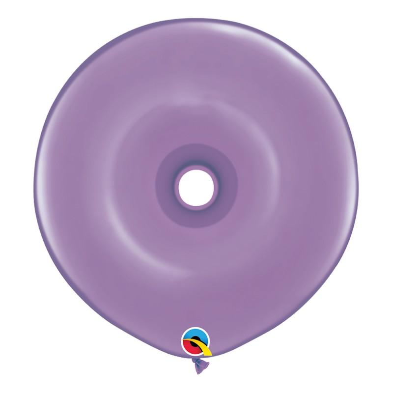 Balão Donut Lilás Primavera • 25 un.• Qualatex