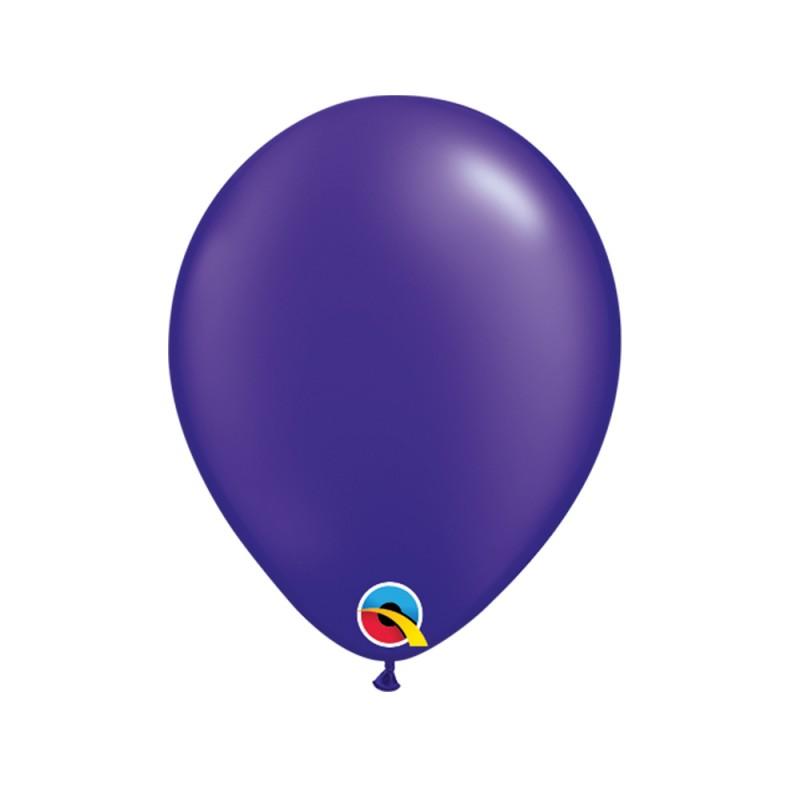 Balão Roxo Pérola Nº5 • 100 un.• Qualatex