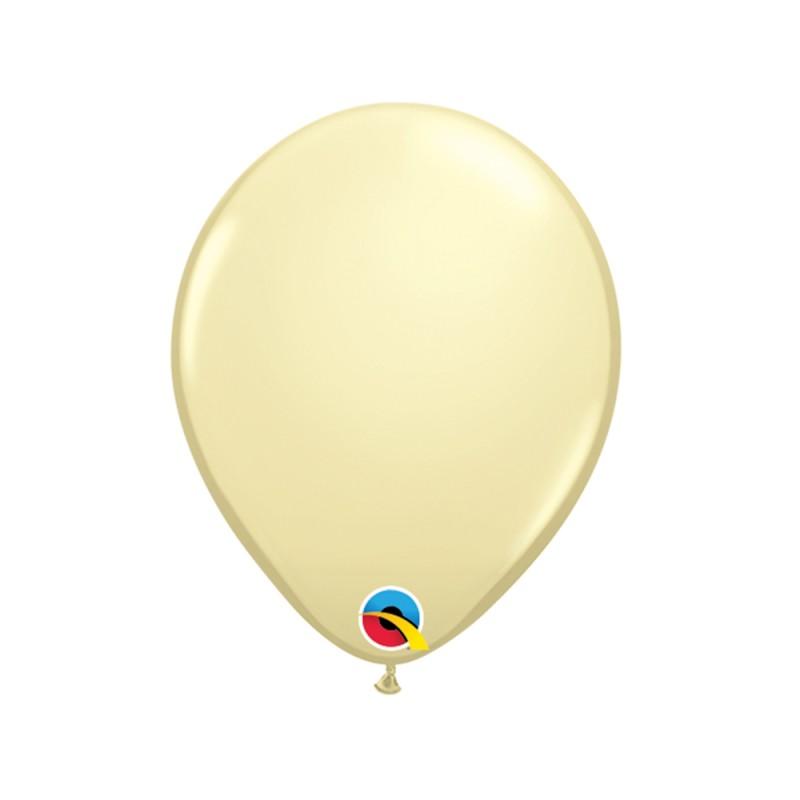 Balão Creme Nº5 • 100 un.• Qualatex