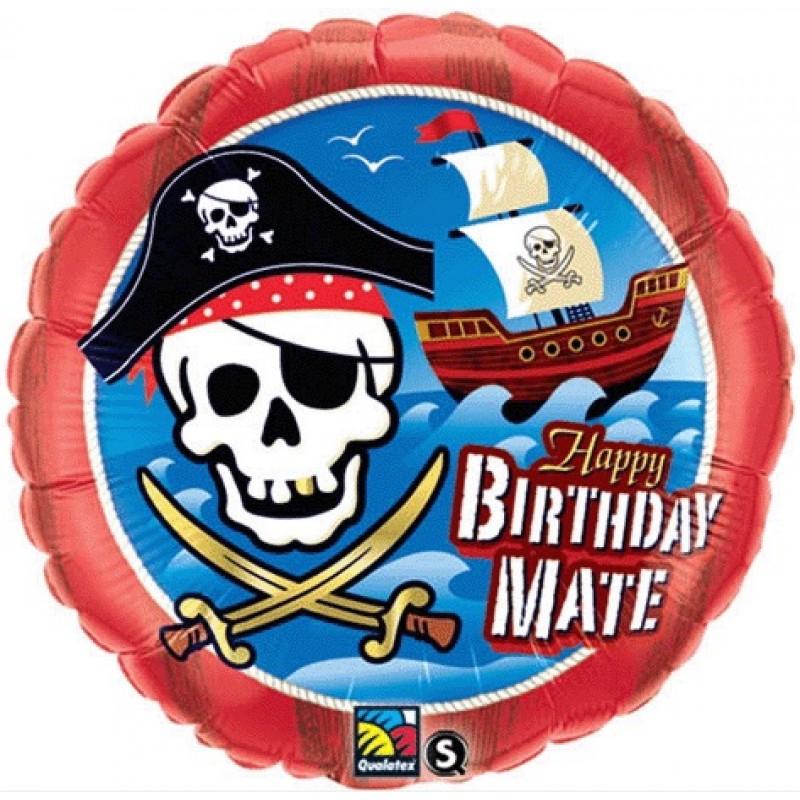 Balão Pirata • Foil • Qualatex