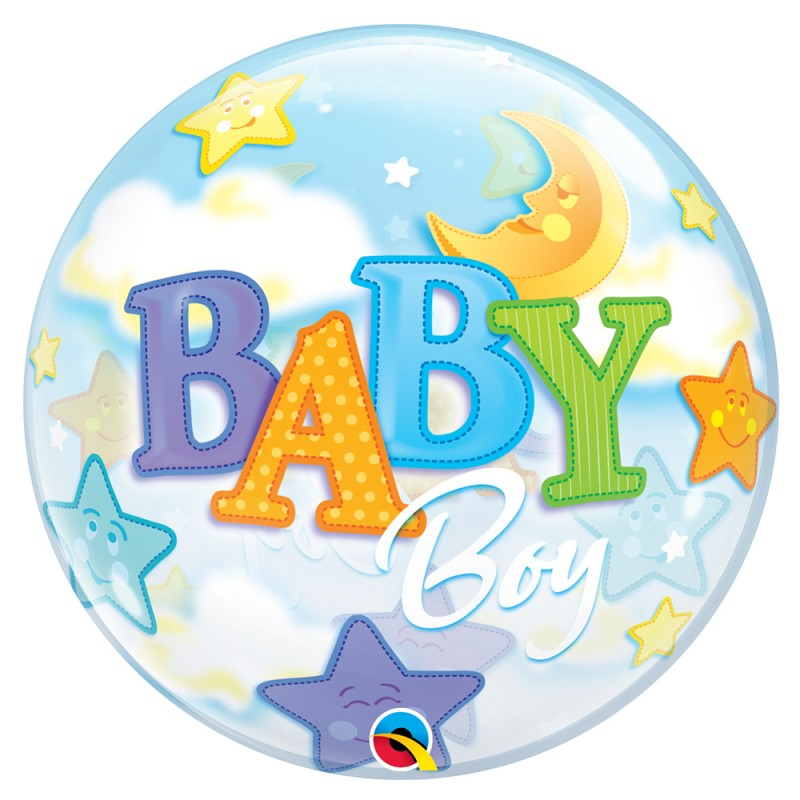 Balão Redondo Baby • Bubble • Qualatex Series