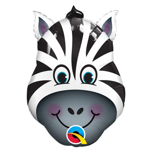 Balão Zebra • Super Shape • Qualatex