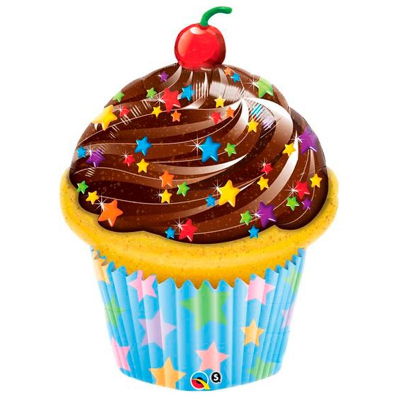 Balão Cupcake • Super Shape • Qualatex
