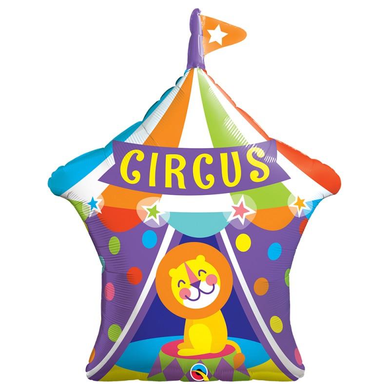 Balão Circus • Super Shape • Qualatex