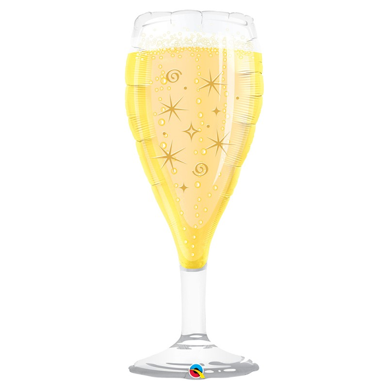 Balão Taça Champagne • Super Shape • Qualatex