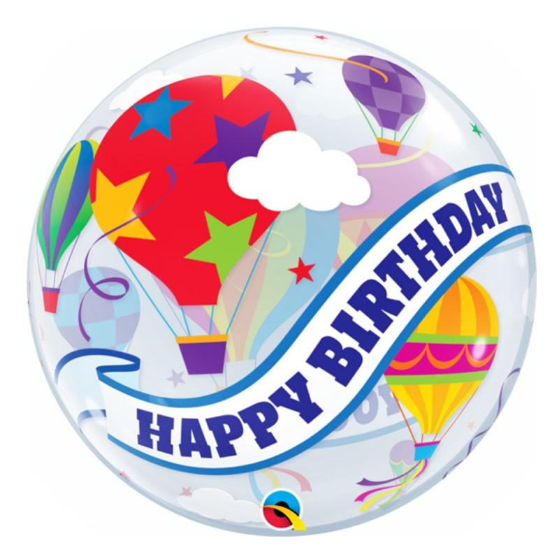 Balão  Happy Birthday to You Balões - Bubbles