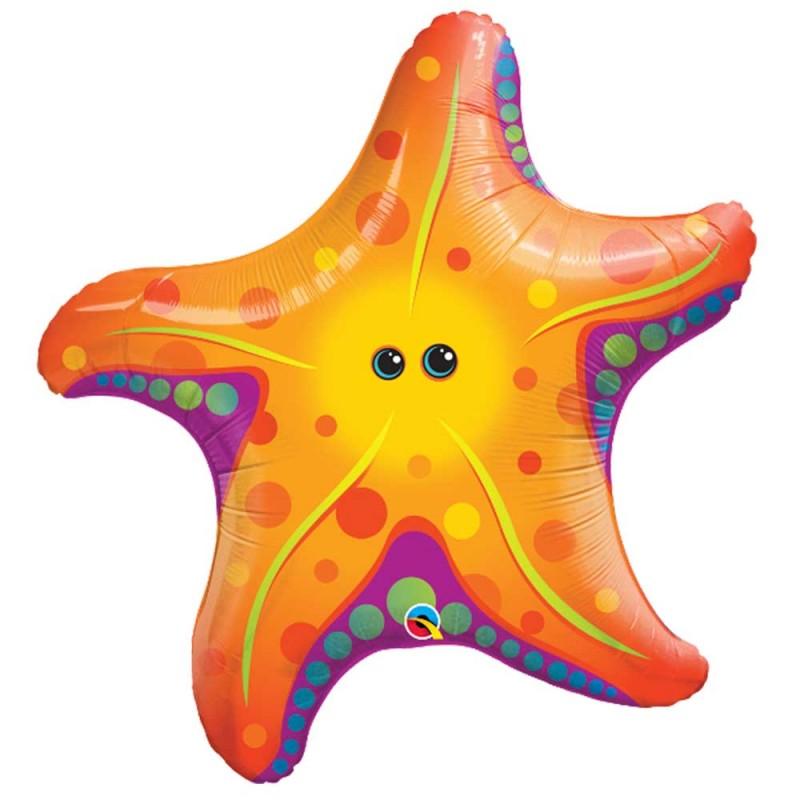 Balão Estrela do Mar • Super Shape • Qualatex