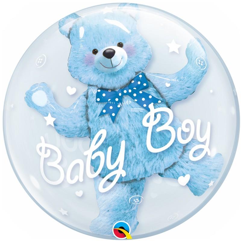 Balão Redondo Baby • DoubleBubble • Qualatex