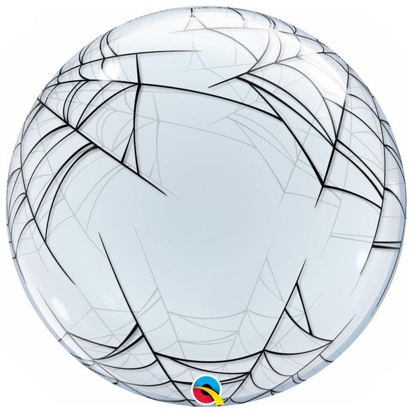 Balão Deco Teia de Aranha • Bubble • Qualatex