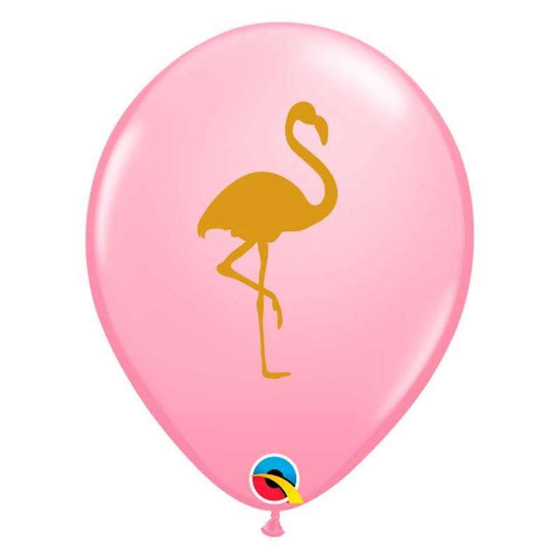 Balão Rosa Flamingo • Nº11 • 50 un • Qualatex