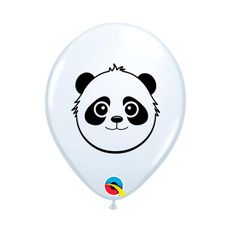 Balão Urso Panda Nº5 • 100 un. • Qualatex
