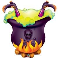 Balão Caldeirão da Bruxa • Super Shape • Qualatex
