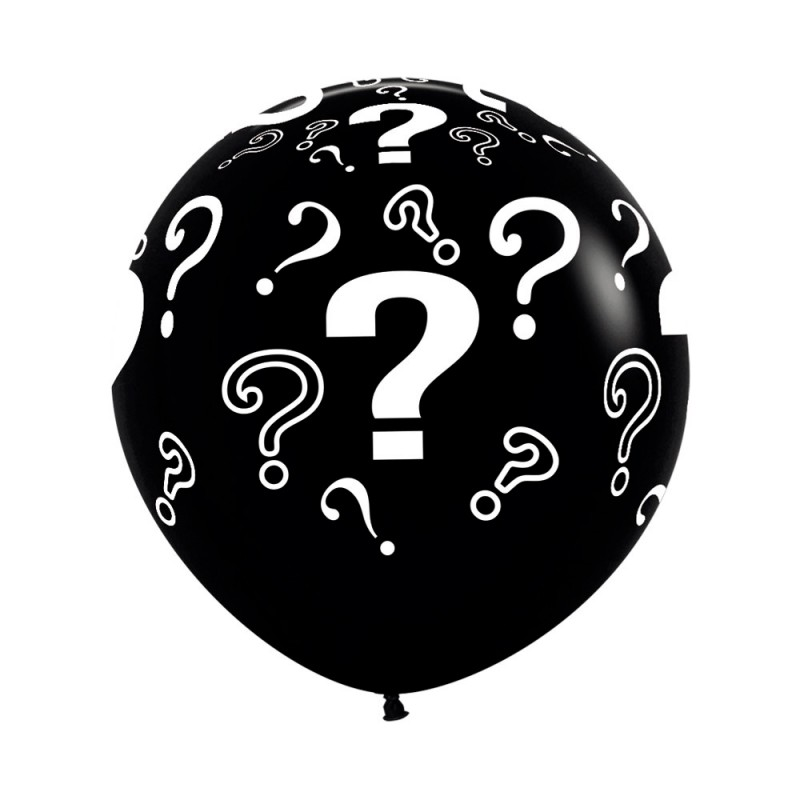 Balão Chá Revelação Nº36 • 2un.• Preto • Sempertex