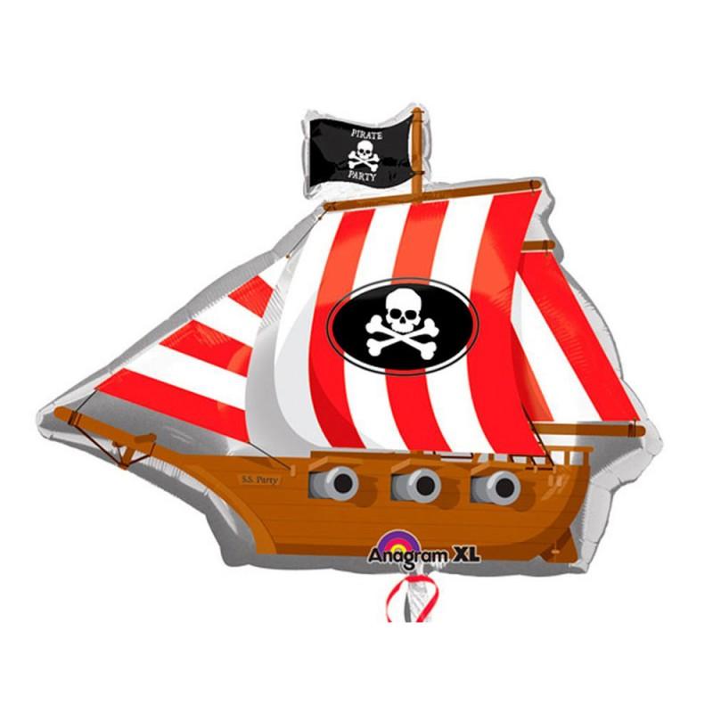 Balão Festa Pirata • Super Shape • Regina