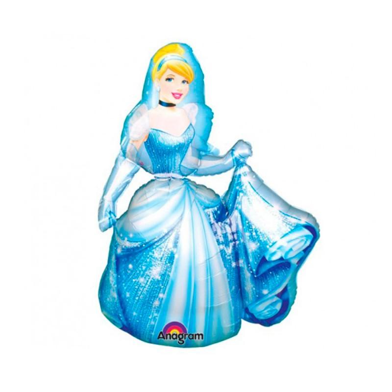 Balão Air Walkers Cinderela • Super Shape • Regina