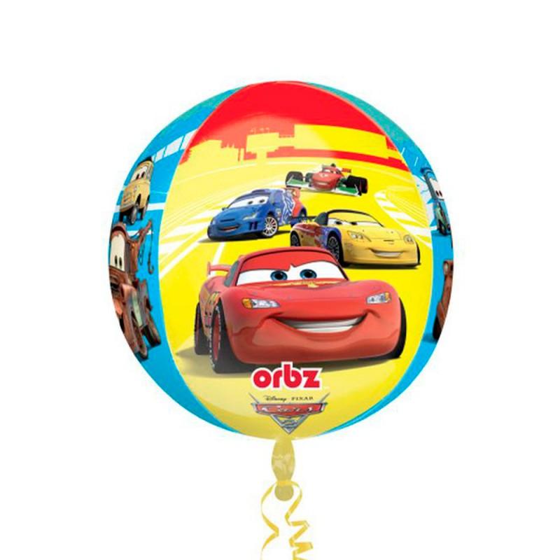 Balão Bola Carros • Super Shape • Regina