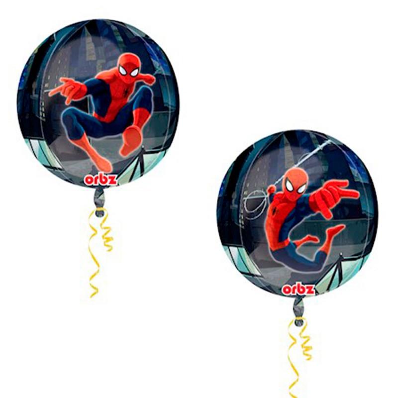 Balão Redondo Homem Aranha • Super Shape • Regina