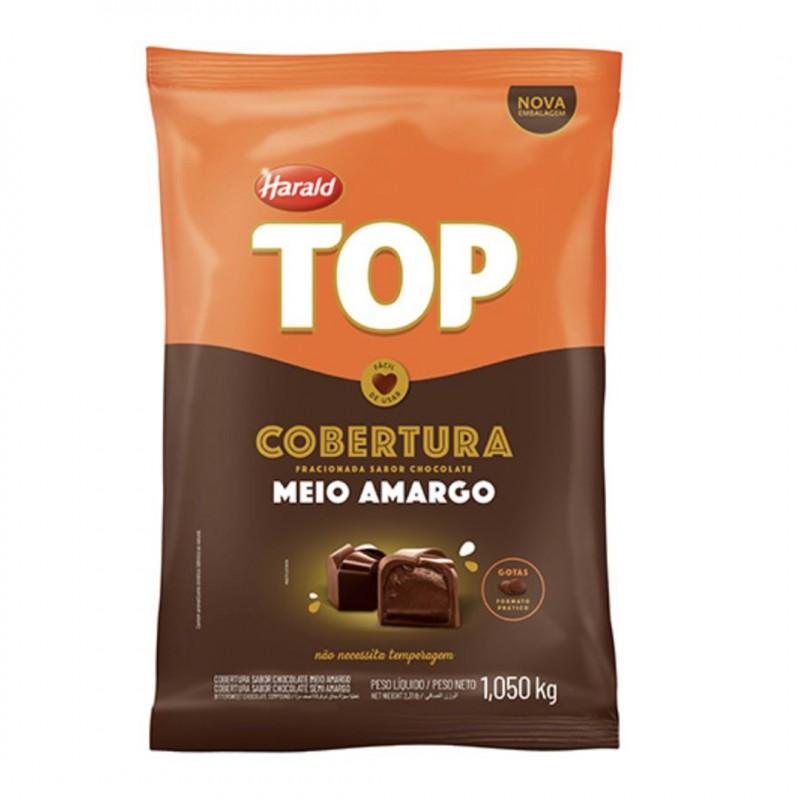 Cobertura Top • Meio Amargo • Gotas • 1,050kg • Harald