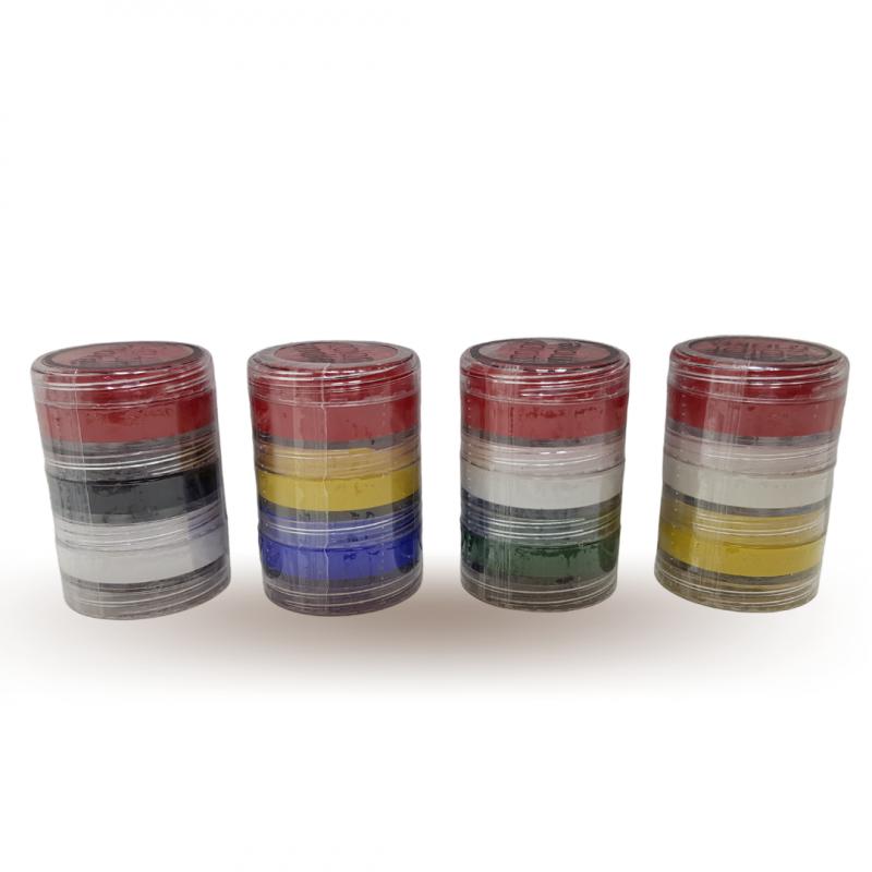 Kit Tinta Cremosa Facial - 3 Cores - 1Un - Colormake