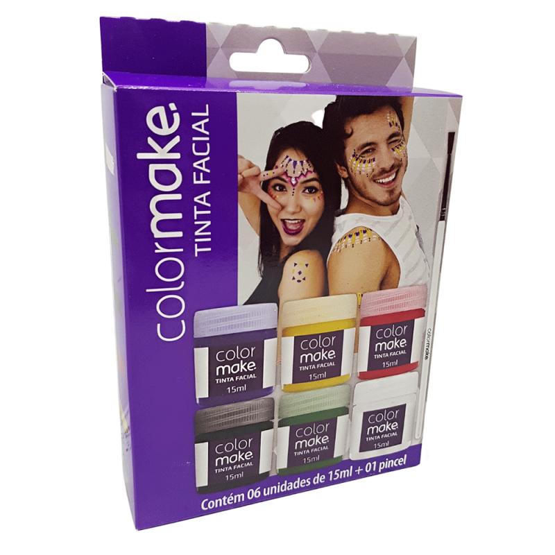 Tinta Cremosa Facial - 6 Cores - Colormake