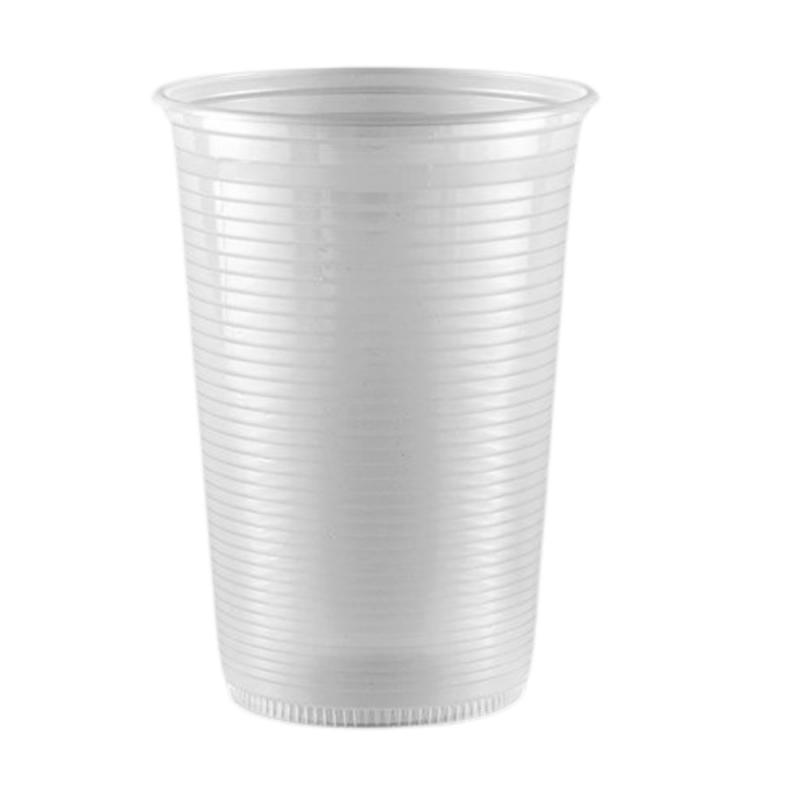 Copo Descartável Translúcido 500ml - 50Un - Copaza
