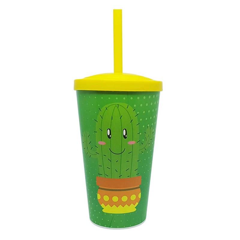 Copo Plastico • Cactus • 550ml • Neoplas