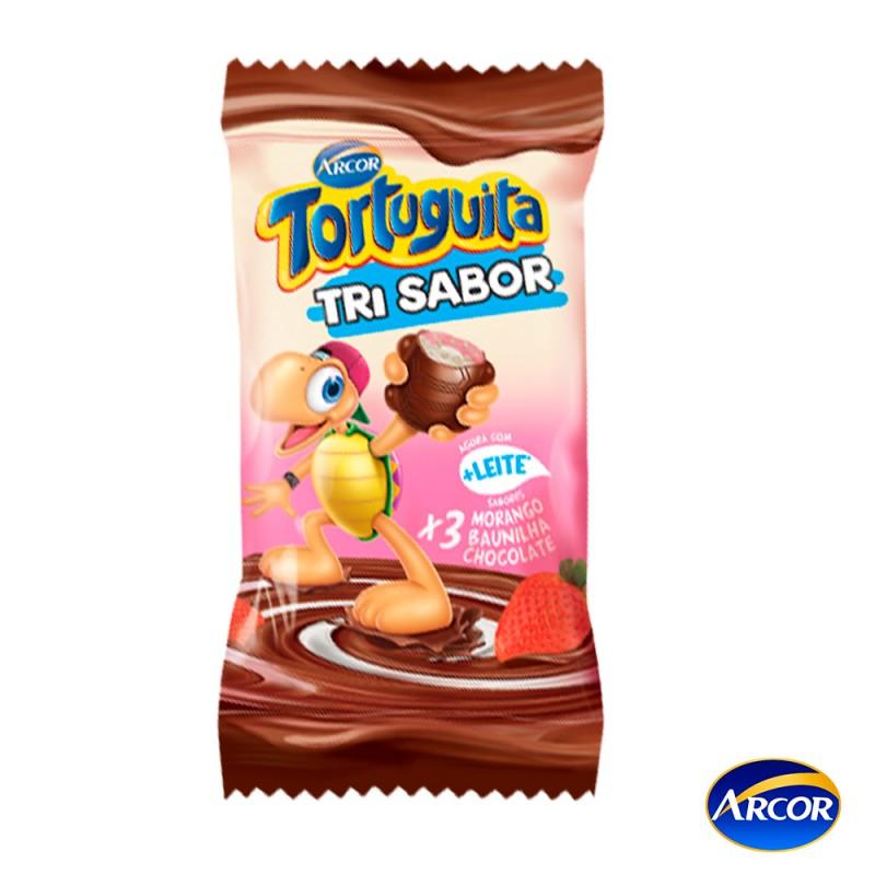 Tortuguita • Tri Sabor • Cx. c/24un. Arcor