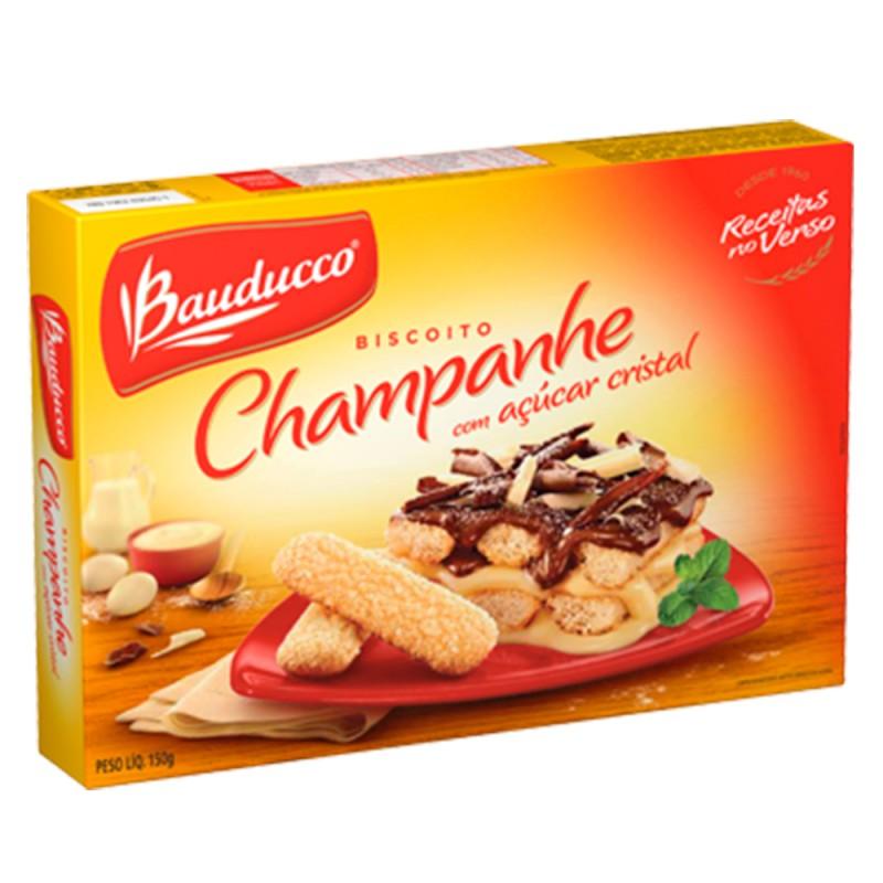 Biscoito • Champanhe • c/ Açúcar cristal • 150g • Bauducco