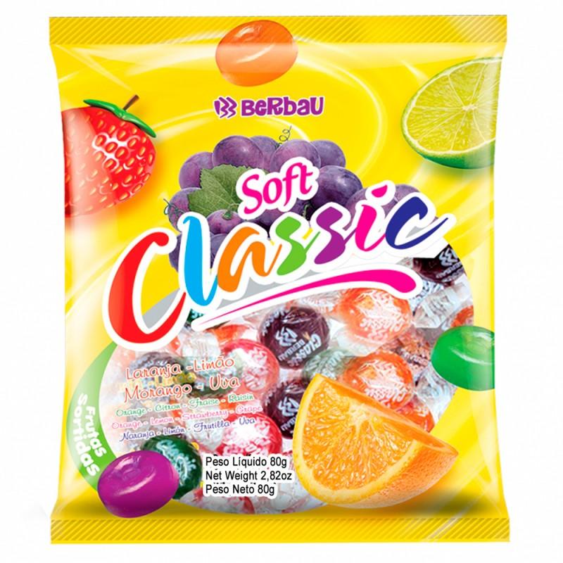 Bala Dura •Soft Classic • Frutas • 600gBerbau