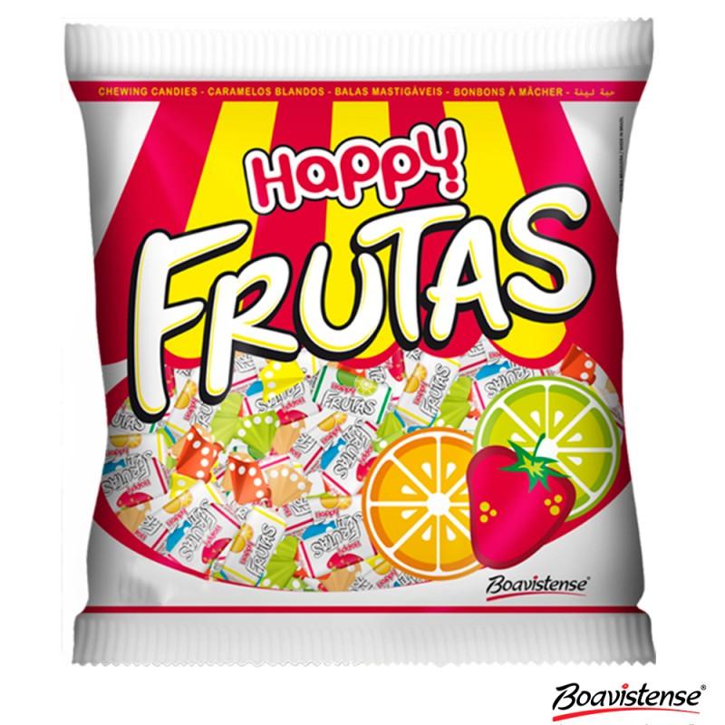 Bala Happy • Frutas 600g • Sortidas