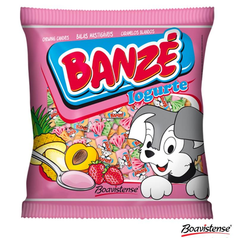 Bala Mastigável • Banzé • Iogurte 600g