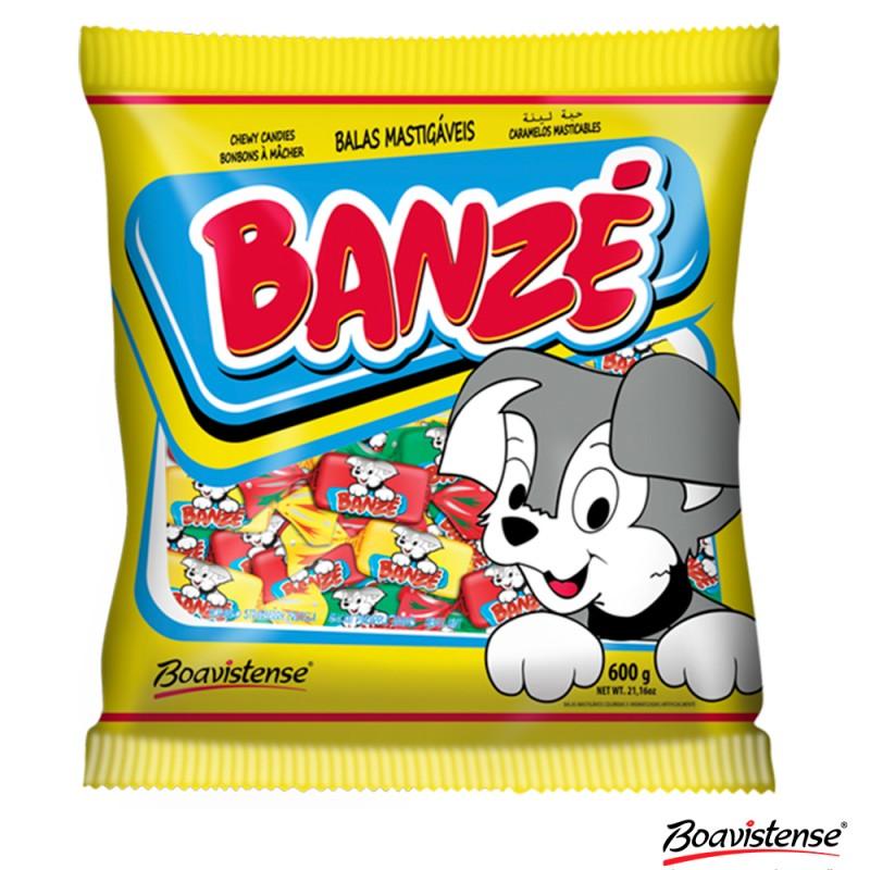 Bala Mastigável • Banzé • Frutas Sortidas 600g
