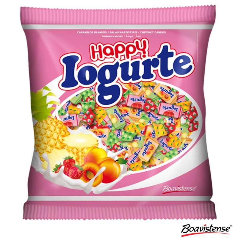 Bala Happy • Iogurte • Frutas Sortidas • 600g