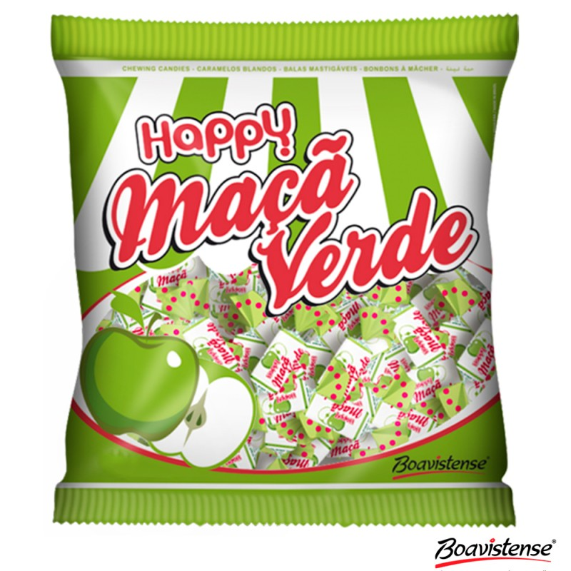 Bala Happy • Maçã Verde • 600g