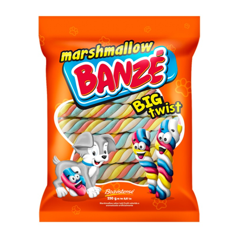 Marshmallow Big Twist 250g • Boavistense