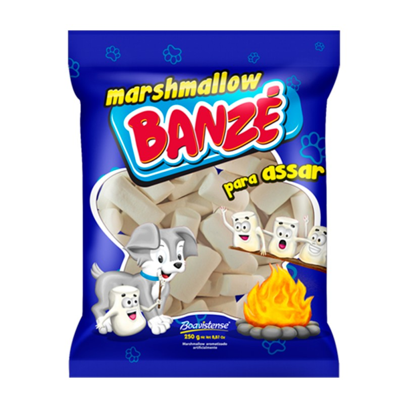Marshmallow Branco 250g • Banzé