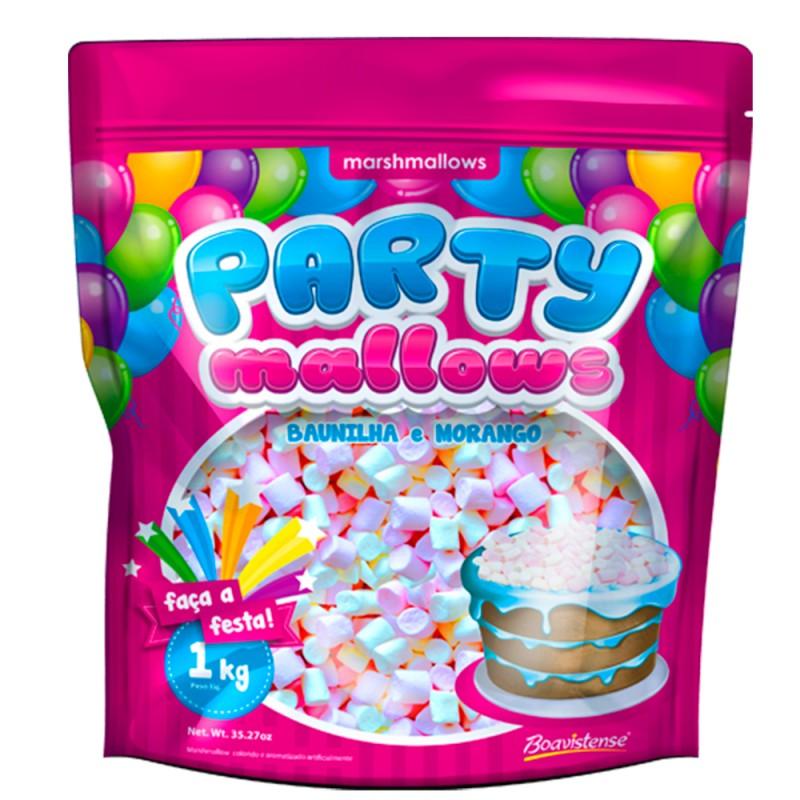 PartyMallows Morango e Baunilha 1kg • Boavistense