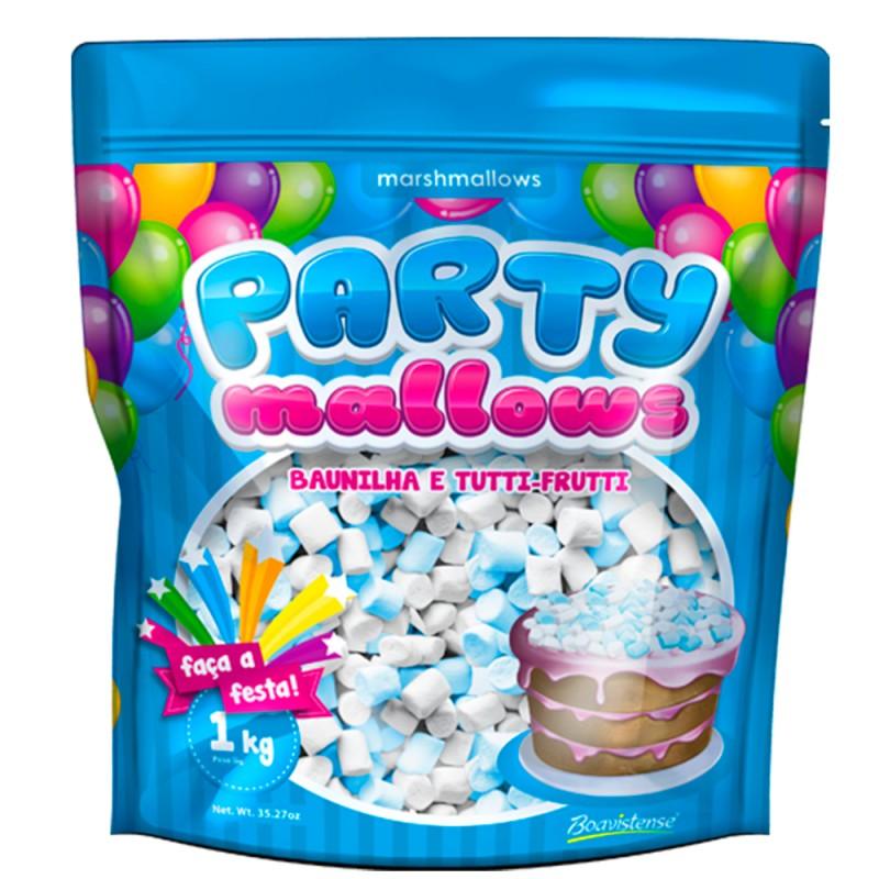 PartyMallows Tutty-frutti e Baunilha 1kg - Boavistense