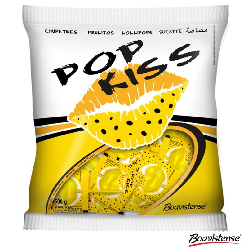 Pirulito • Pop Kiss • Maracujá • 500g • BOAVISTENSE
