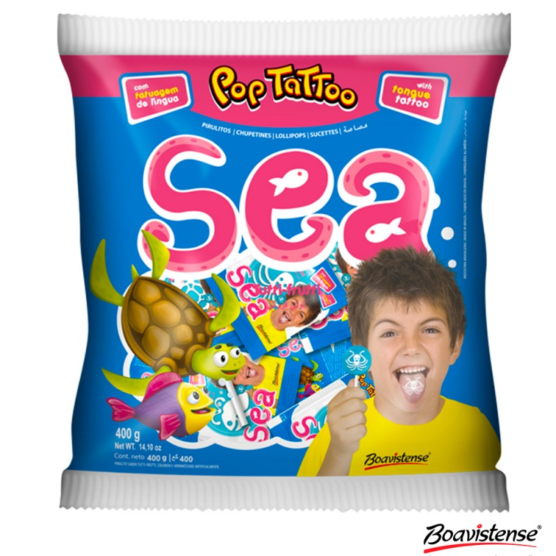 Pirulito • Sea • Tutti-frutti 400g • BOAVISTENSE