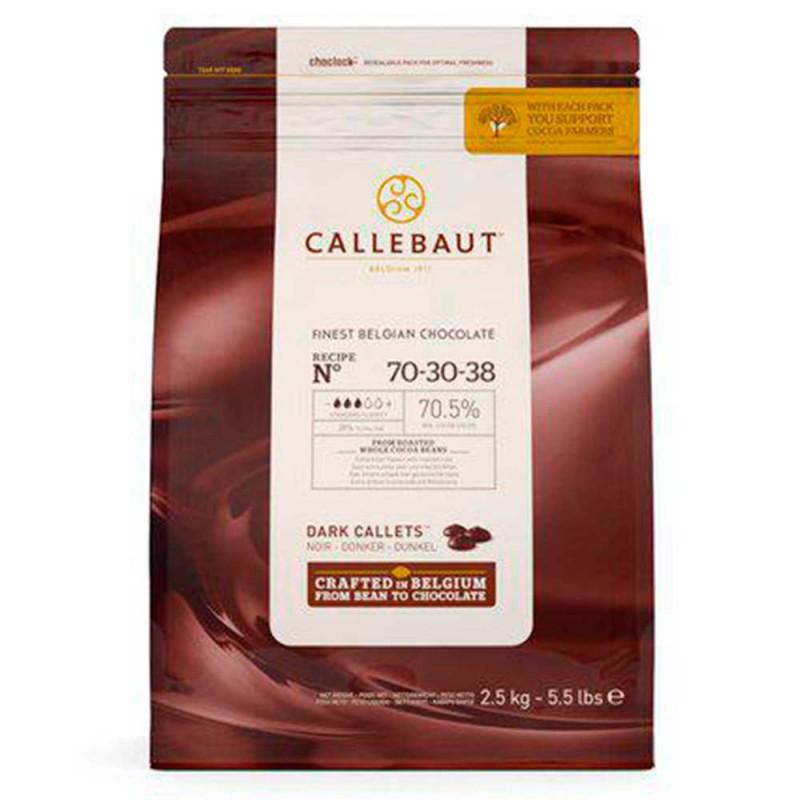 Callebaut • Amargo • nº70-30-38 • 70.5% |2,5kg