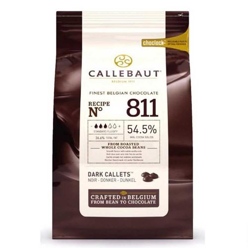 Callebaut • Amargo • nº811 • 54.5%|2,5kg
