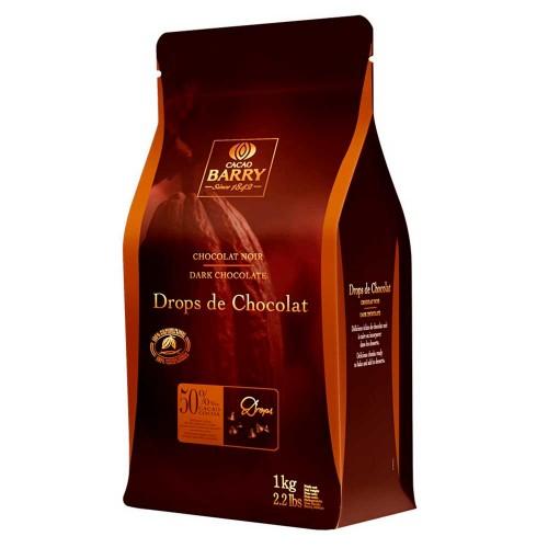 Callebaut • Drops de Chocolate • 50% • 1kg