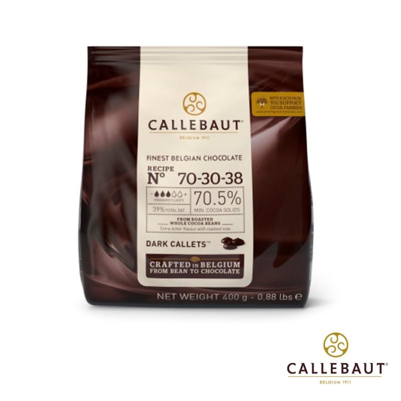 Callebaut • Amargo • nº70-30-38 • 70.5%|400g