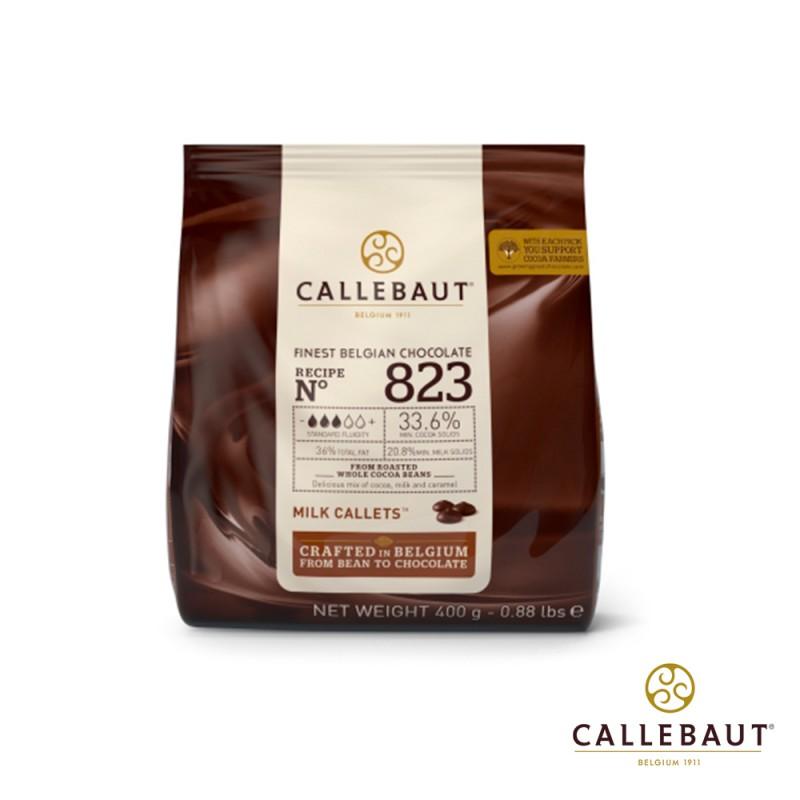 Callebaut • Ao Leite • nº823 • 33,6%|400g