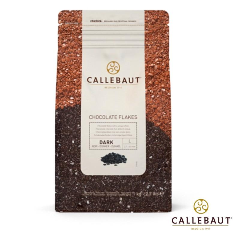 Callebaut • Chocolate Flakes • Amargo • L • 1kg