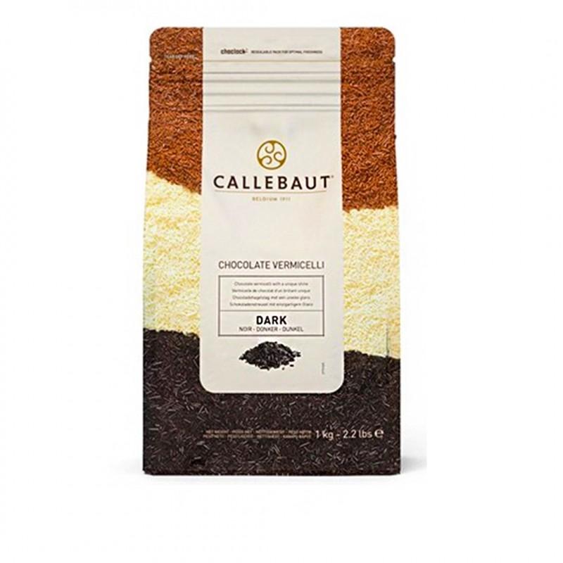 Callebaut • Granulado Vermicelli • Meio Amargo • 1kg | Callebault