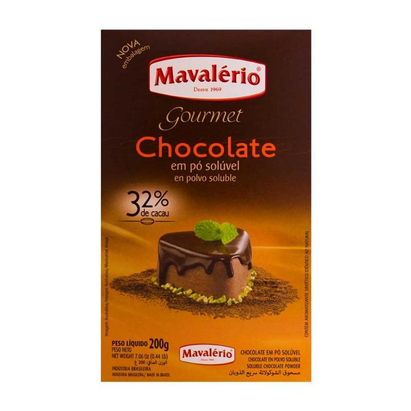Chocolate em Pó Solúvel • 32% Cacau • 200g • Mavalério