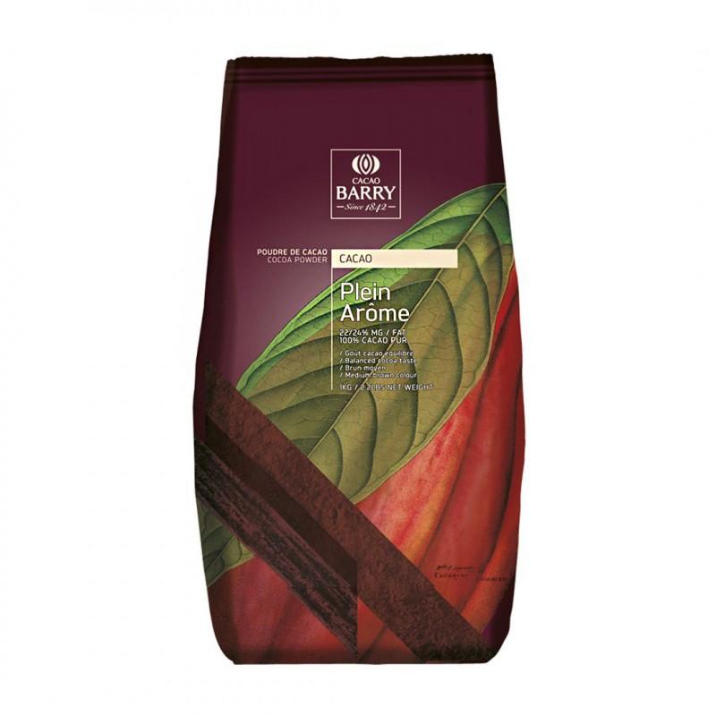 Cacau em Pó 100% • Plein Arôme • 1kg • Cacao Barry