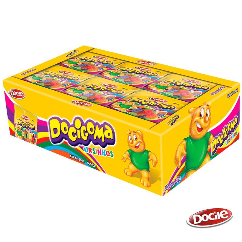Docigoma Ursinhos • Caixa 25un. • DOCILE